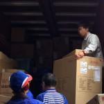 荷物の積卸作業